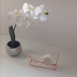 Other - Rose gold tape dispenser